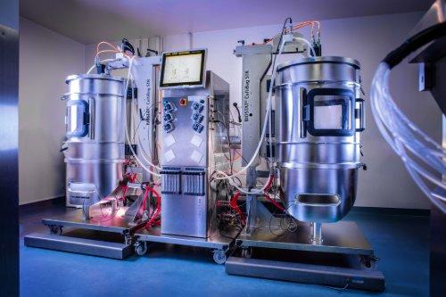 Single-use bioreactor GMP manufacturing stir-tank